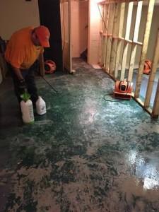 911 Restoration New Floor
