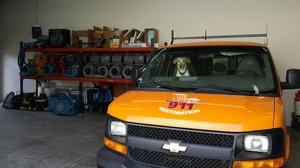 Water Damage Elizabeth SUV At Warehouse